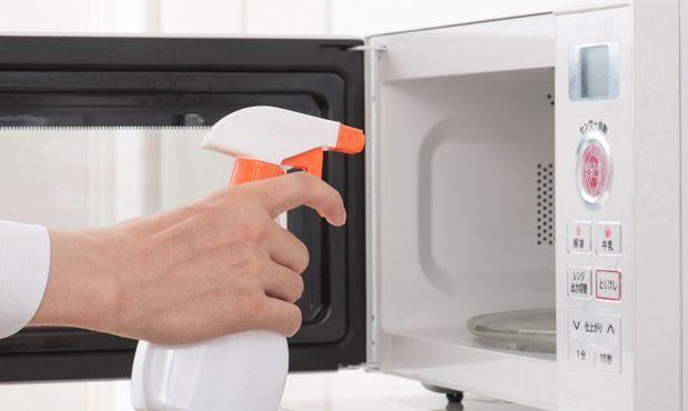 Limpeza do microondas