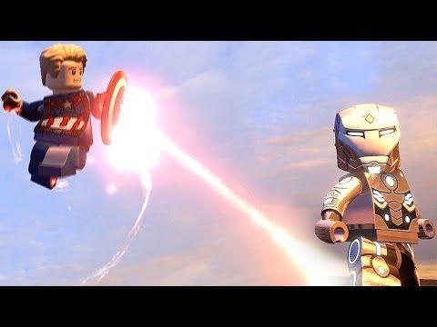 Superior Iron Man vs Captain America Civil War LEGO IRON MAN LEGO Marvel...