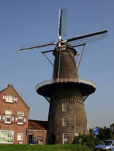 Molen Vlaardingen Holland - almost died here; saved by my uncle.