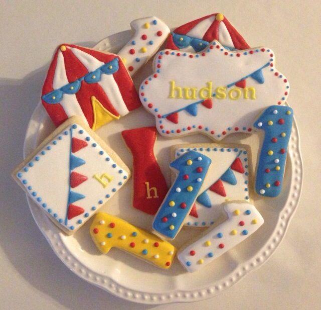 Circus cookies. #socialcircus