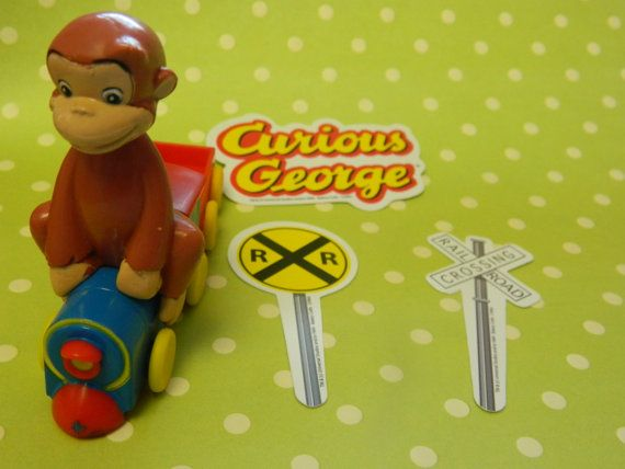 Curious George Cake Topper Party City