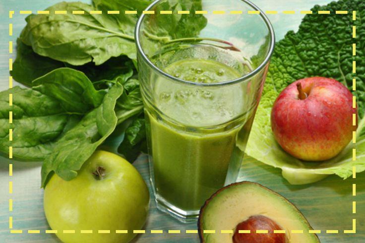 Jabłko, awokado, sałata, szpinak – zielona energia na dobry poranek ;)