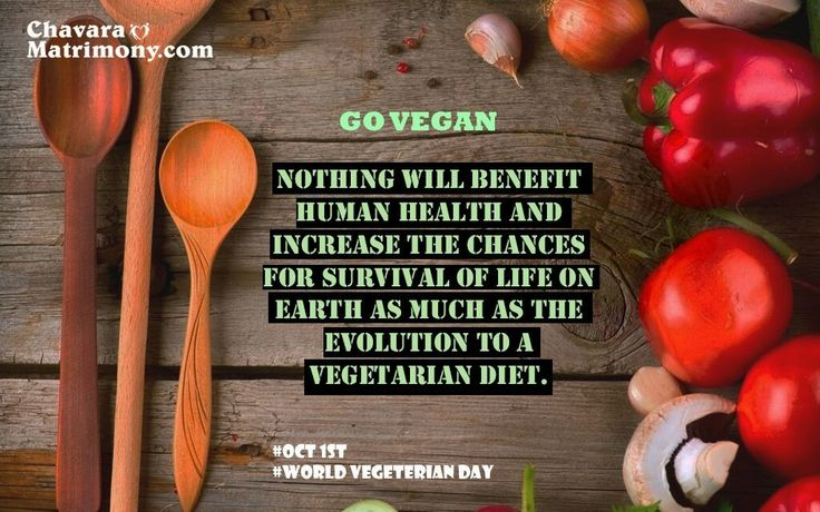 #WorldVegetarianDay #GoVegan