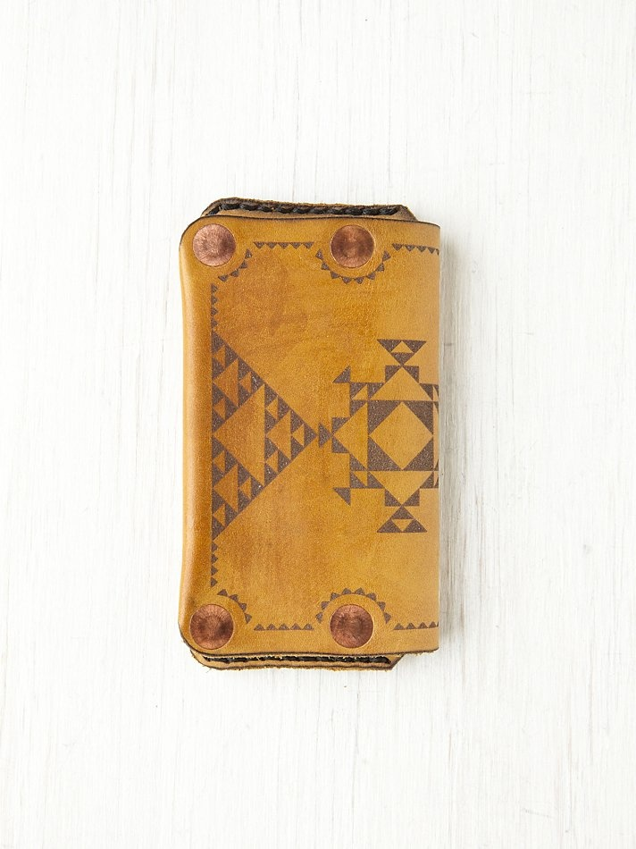 Nomad Unlimited Tattoo iPhone 4/4S Wallet at Free People Clothing Boutique
