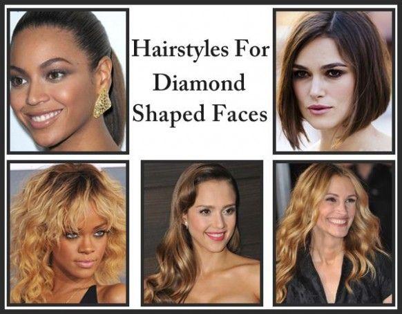 Female Hairstyle For Diamond Shaped Face Di 2020 Gaya Rambut Rambut Model