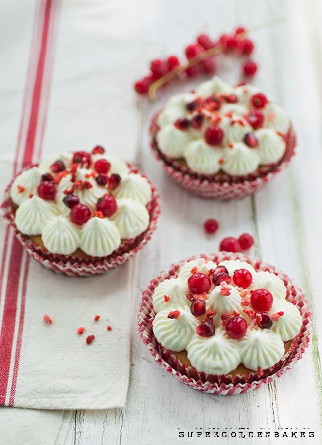 This recipe for elderflower yogurt cupcakes is made with natural yogurt in the batter but the frosting is made with greek yogurt.