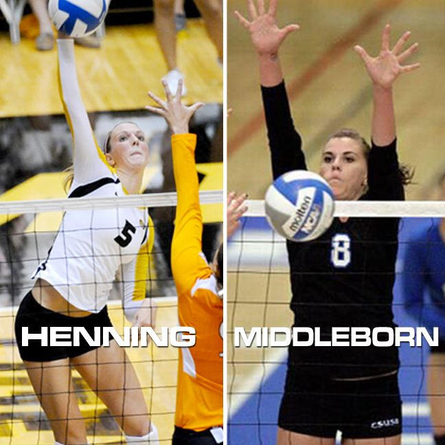 The 2015 ‪#‎MinerVBCamps‬ Advanced Specialty Camp Lead Coaching Staff Announced! • LISA HENNING - Outside & Right Side Hitters Former 3x All-American Outside Hitter from Mizzou & current professional volleyball player in France. • SAMANTHA MIDDLEBORN - Middle Hitters Former 2x Division II National Player of the Year from Cal. State-San Bernadino & current professional volleyball player in Switzerland. Have an AMAZING camp staff coming to help all the campers get better! DON'T MISS OUT!!