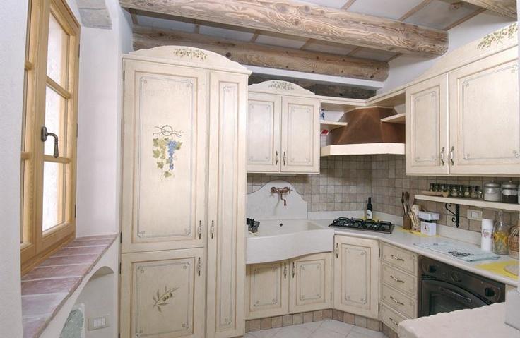 cucina provenzale mobili pareti e pavimenti kitchen i