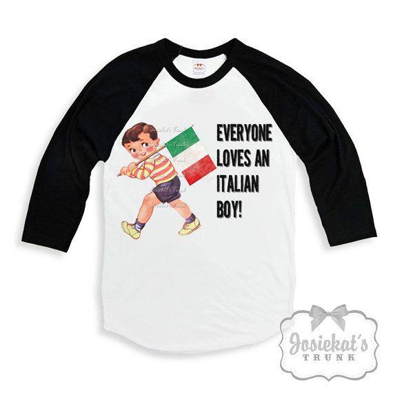 Italian Shirt Boy  Everyone Loves an Italian Boy by josiekatstrunk