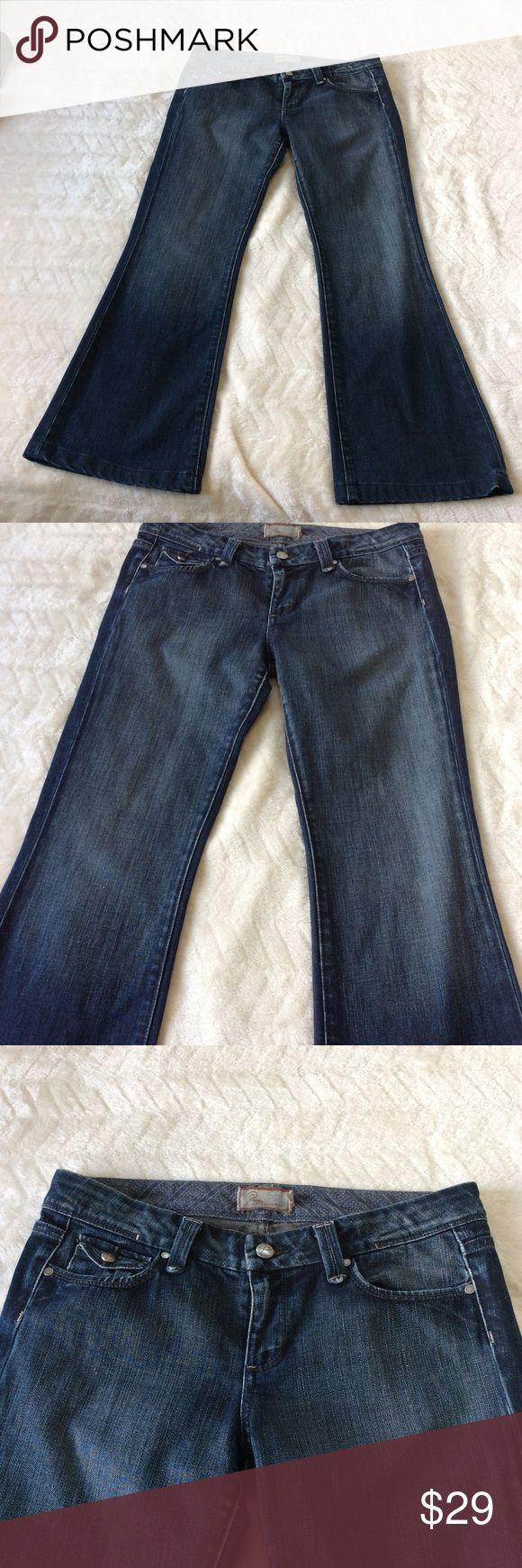 Paige Premium Denim Low Rise Bootcut jeans Size 30 Paige Premium Denim in a low-rise Bootcut. Great Condition Size 30 Paige Jeans Jeans Boot Cut
