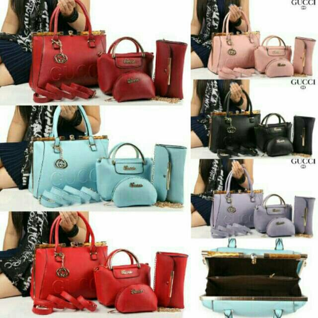 #tas#tasgucci #guccibag #gucci  (285ribu) 4in1 New GUCCI Arista Behel 1093#  Smooth Leather Quality Semi Ori# 30x25x14 &  19x16x10 &  21x124 & 14x10x6 (1,7kg)hc Best Seller Buruan Yaaaaaaa  BB 5994f533 WA 085765037530/08566549554 Tokopedia Hasna Wakhid olshop FB Hasna Wakhid tas