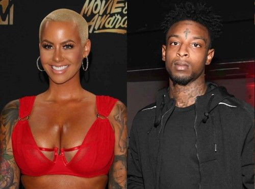Amber Rose And Rapper 21 Savage Make Their Relationship In..