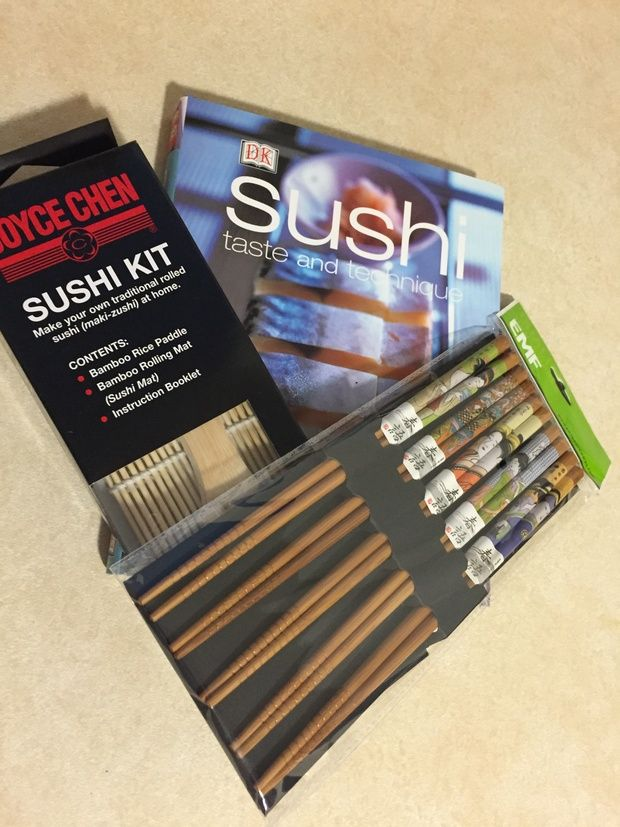Time for some Sushi fun!! - r/Food Cookbooks Exchange - redditgifts