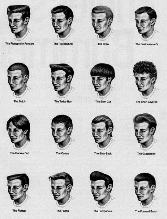Men S Haircut Names Terms Haircut Haircutnames Names Terms