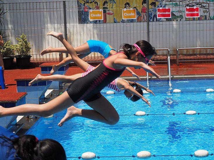Swimming carnival at ACG School Jakarta