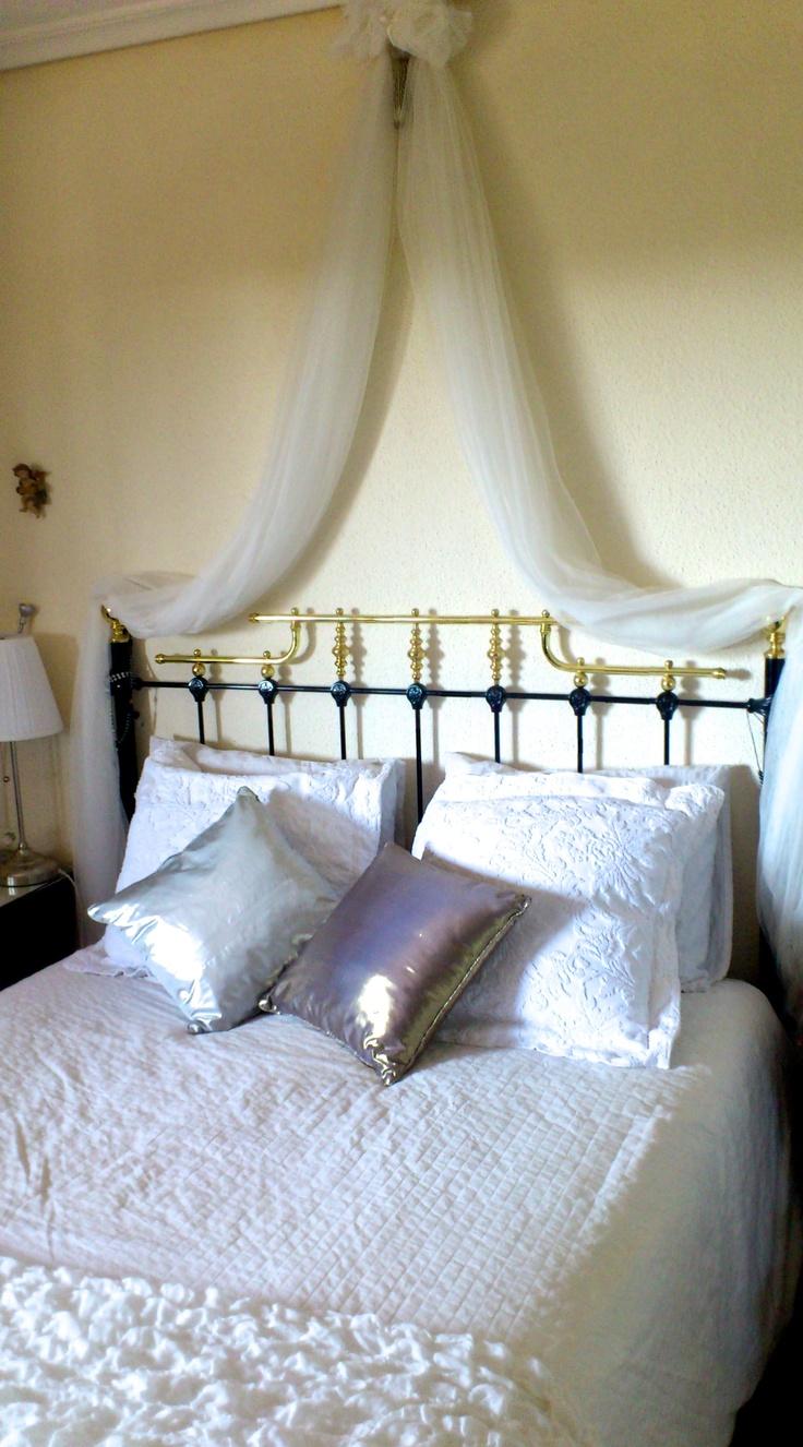1000 images about camas con dosel para so ar on - Ideas para hacer cabeceros de cama ...