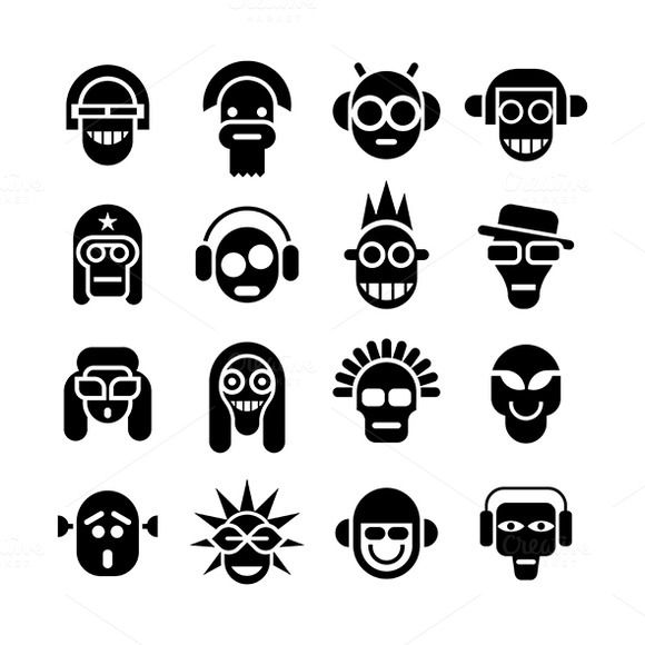 Check out Avatars by dan on Creative Market