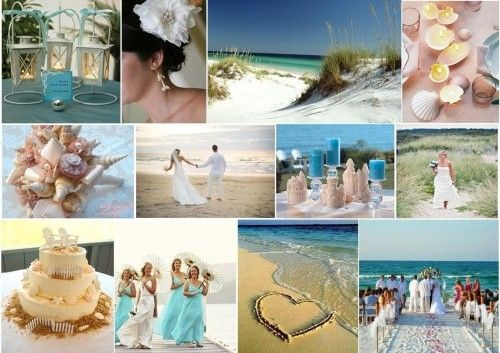 Beach Wedding Themes http://www.weddingcolorthemes.com/top-wedding-colors-themes/