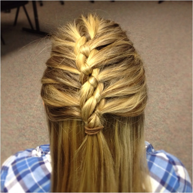 how to tie french plaits on hair