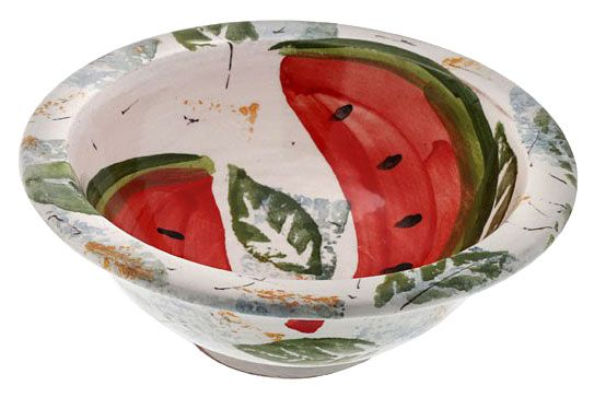 Bowl motifs by a mansion -   Created by EleniKanellopoulou and inspired by the interior decoration of a reception room from an 18th century mansion house in Siatista.      Hand-painted ceramic     Dimensions: Diam. 14 cm - 26 cm