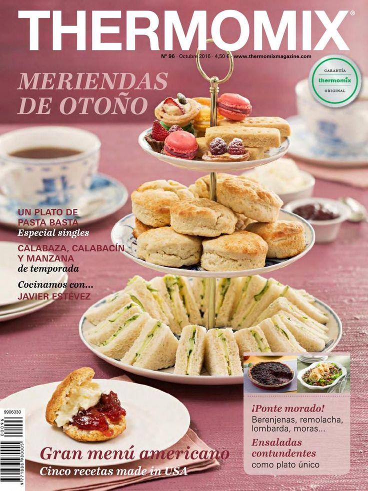 Thermomix magazine nº 96 [octubre 2016] by Ada Wong - issuu