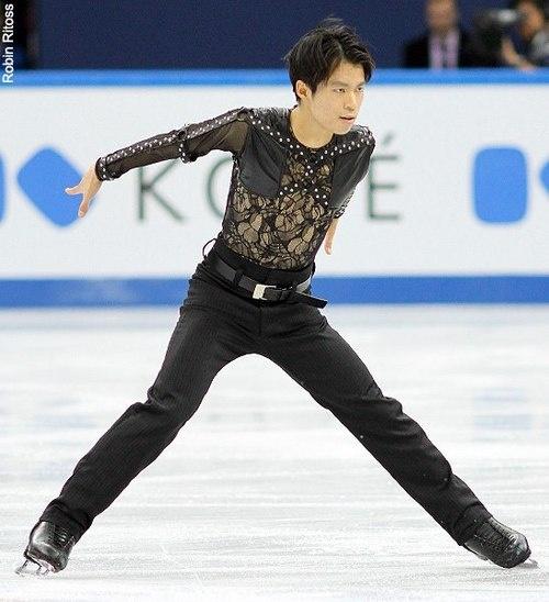 Tatsuki Machida's short program costume at the 2012 Grand Prix Final.