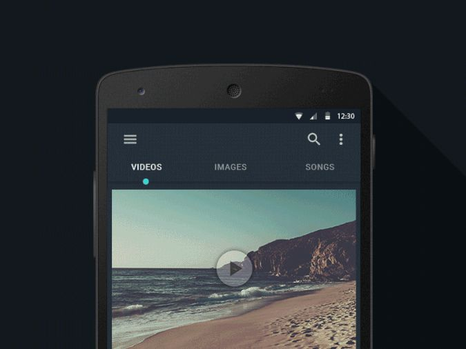 Tab Interaction by Srikant Shetty—The Best iPhone Mockups → store.ramotion.com