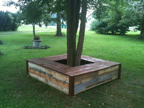 best 25 tree bench ideas on pinterest tree seat. Black Bedroom Furniture Sets. Home Design Ideas