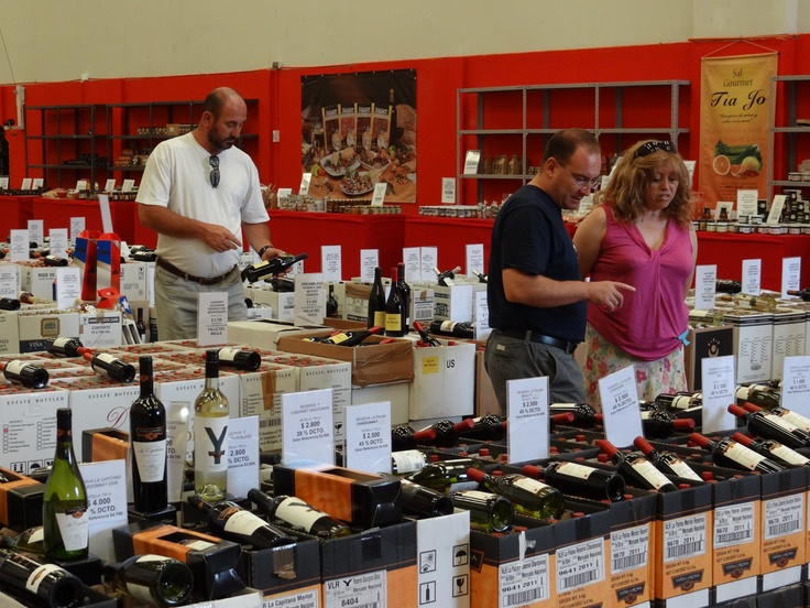Andes Wines Store in Chile