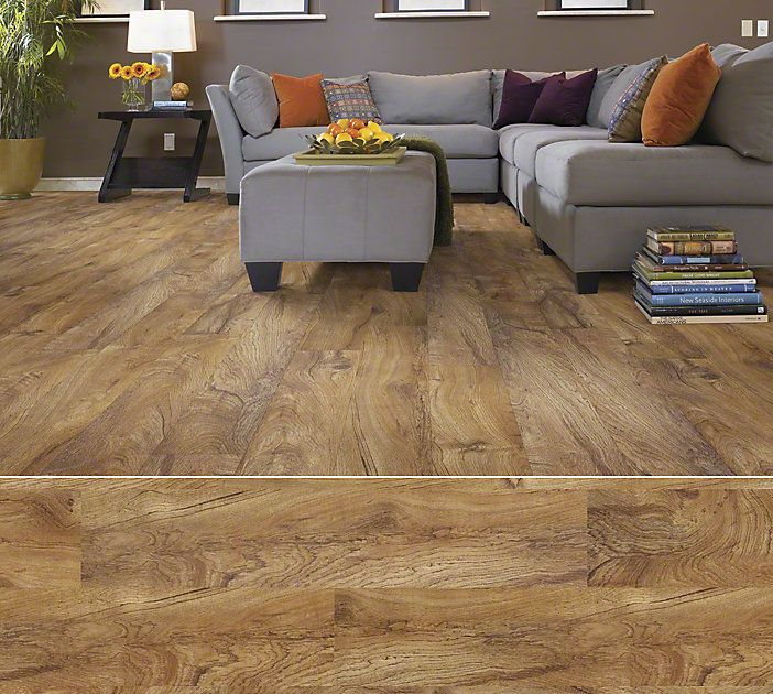 Shaw Laminate Flooring Tropic Cherry: Shaw Array Resilient Plank In Style Sumter Plank Color