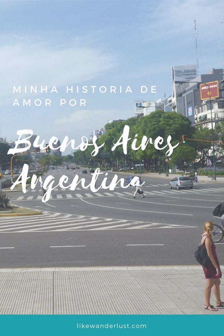 Me apaixonei por Buenos Aires antes mesmo de conhecer a cidade. Ainda pequena sonhava em visitar a capital da Argentina. Divido aqui minha historia de amor por Buenos Aires