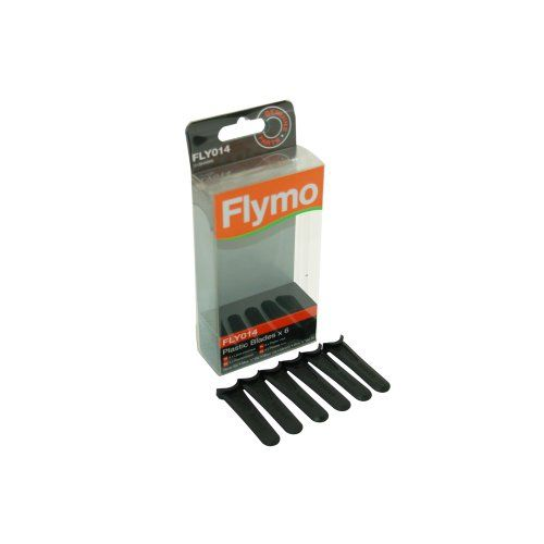 Flymo Genuine Part Number 5138469902 Lawnmower Plastic Blades Fly014 FLY14. For FLYMO Micro lite, Minimo, Hover Vac, Mow n Vac
