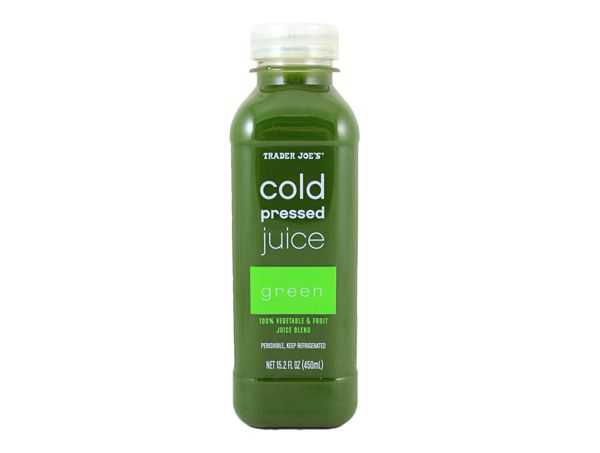 THANK YOU TRADER JOE'S FOR THE COLD-PRESSED JUICES!  Even though they are not organic, they will suffice when I can't go running around an unfamiliar city for a juice bar!