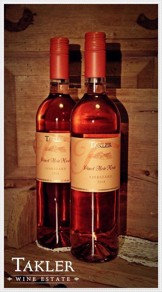 TAKLER Pinot Noir Rosé 2014