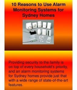 Providing security to the family is on top of every household's priority, and an alarm monitoring systems for Sydney homes provide just that with a wide range of state-of-the-art features.