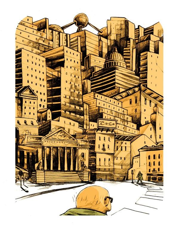 DE STILLE ACTEUR on Illustration Served