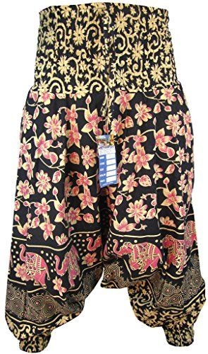 Little Kathmandu Damen Blumen-Symbole Baumwolle Hohe Taille Elastisch Weites Bein Harem Aladdin Genie Yoga Pants Trousers Hosen C LITTLE KATHMANDU http://www.amazon.de/dp/B0162P6LZ4/ref=cm_sw_r_pi_dp_LjpXwb1MA96ZQ