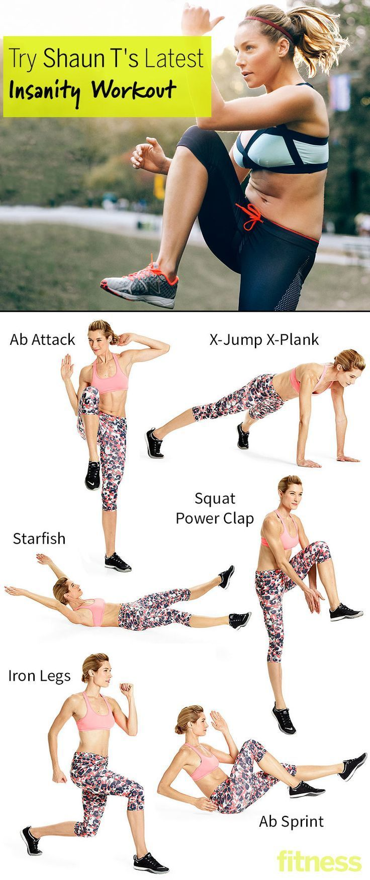 Best workout tip : Try Shaun Ts Latest Insanity Workout