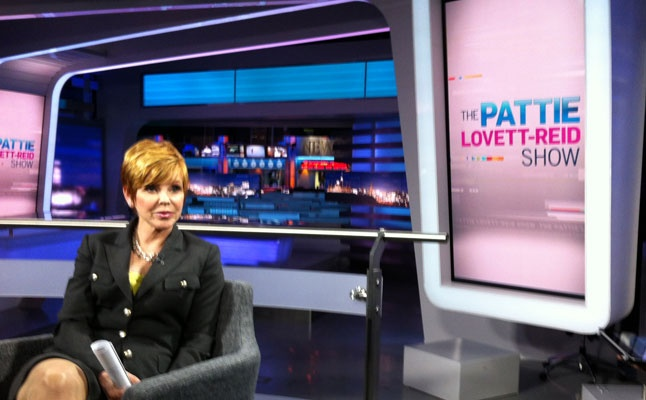 Behind The Scenes During Rehearsals For The Pattie Lovett
