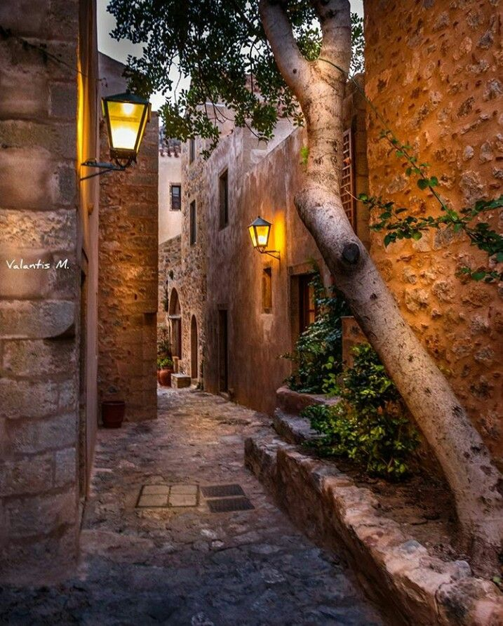 Monemvasia-Peloponnese-Greece