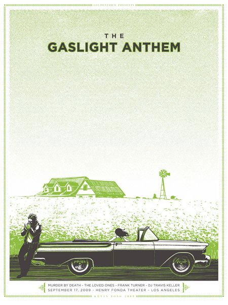 GigPosters.com - Gaslight Anthem, The - Murder By Death - Loved Ones, The - Frank Turner