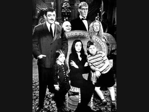 The Addams Family Theme - Vic Mizzy - YouTube