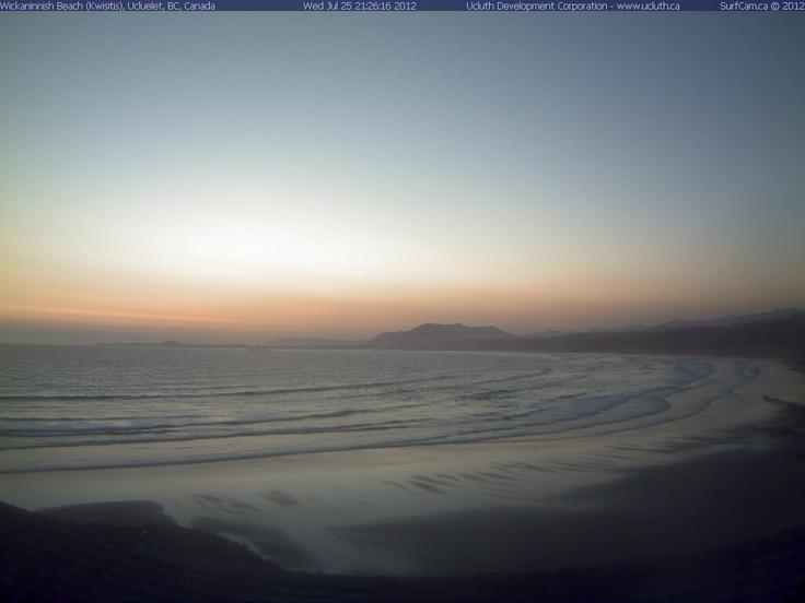 Goodnight sweet sun...Sunset in Tofino