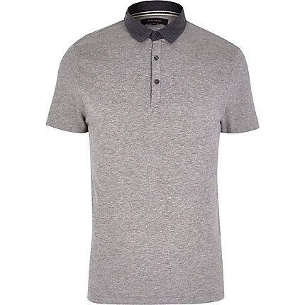 Grey polo shirt £10.00