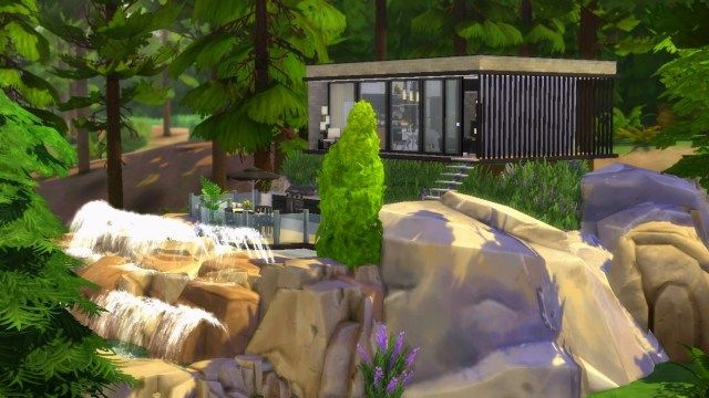 Giuliabuilds Hello Everyone Giuliabuilds Here I M Back With In 2020 Building A Treehouse The Sims 4 Lots Outdoor Retreat