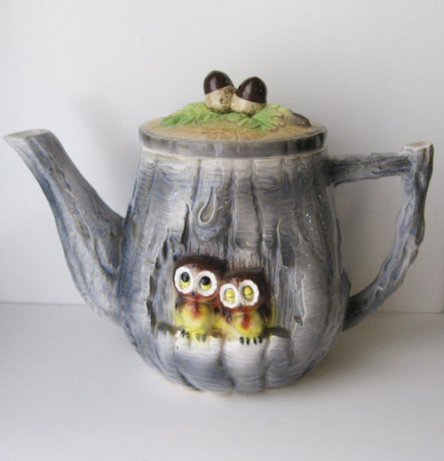 ,Owl Teapot for Mary