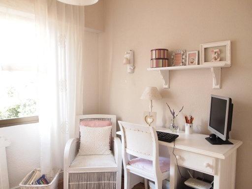 Neutros , pinceladas de color, mi despacho.   Decorar tu casa es facilisimo.com