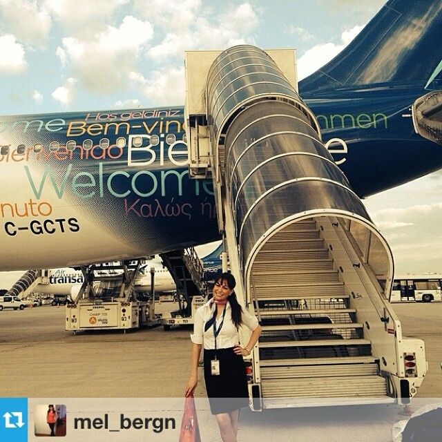 Air Transat Stewardess