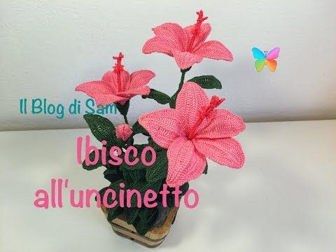Lirio cala || Crochet o ganchillo - YouTube