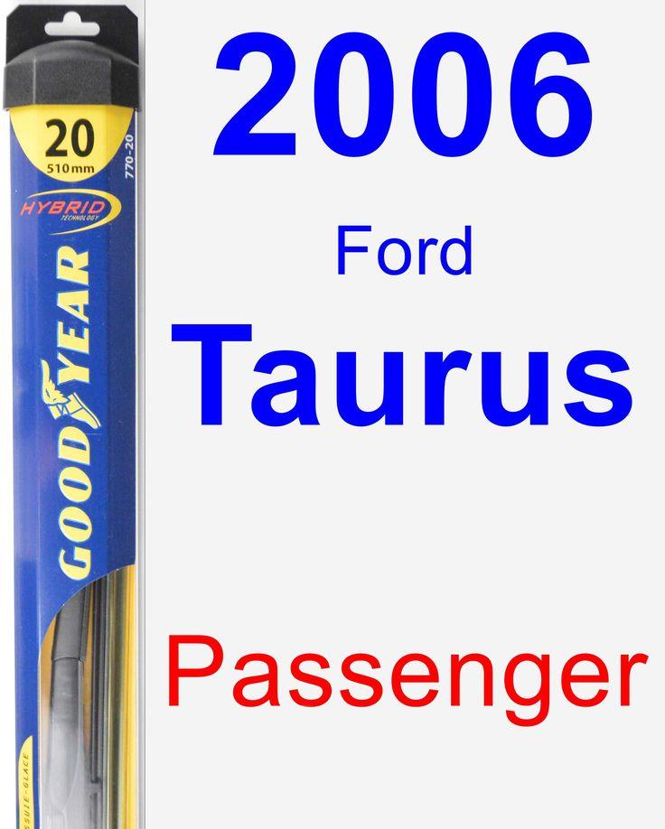 Passenger Wiper Blade for 2006 Ford Taurus - Hybrid